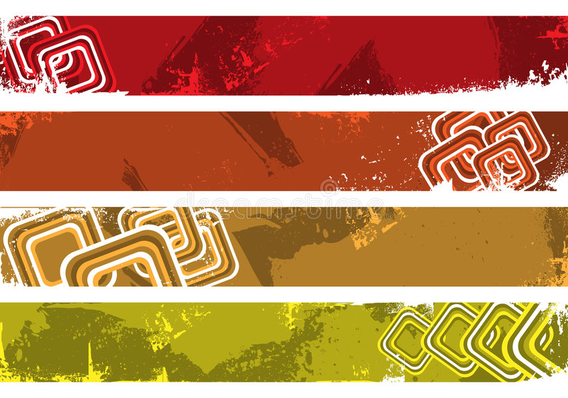 Download Grunge Banners Place Your Text Here Stock Photos - Image: 7669063