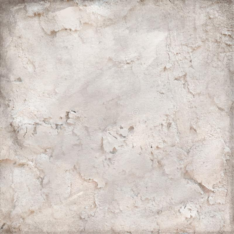 Grunge beige background. wall with texture. Vector Illustration vector illustration