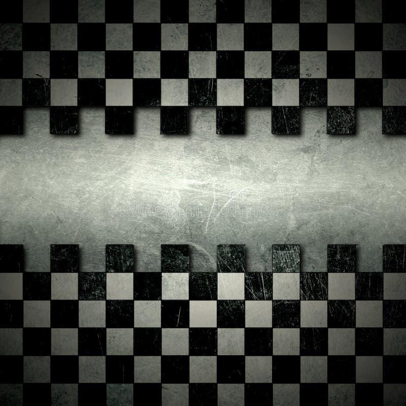 Grunge belagd med tegel mosaik arkivfoton