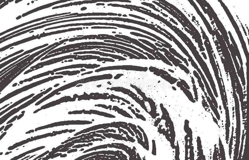 Grunge Beschaffenheit Schwarze graue raue Spur der Bedr?ngnisses B stock abbildung