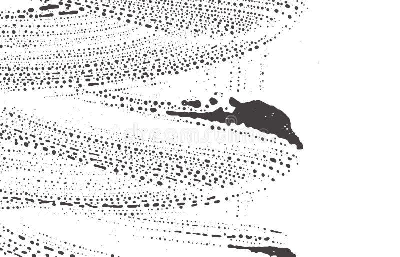 Grunge Beschaffenheit Schwarze graue raue Spur der Bedr?ngnisses A vektor abbildung