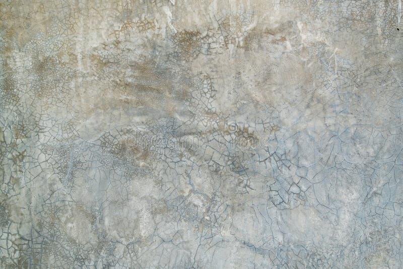 Grunge betonowej ściany tekstury nagi krakingowy tło zdjęcie stock