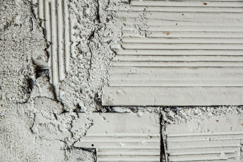 Grunge betonu cementu ściana z pęknięciem w przemysłowym budynku, wielkim dla twój projekta i tekstury tła zdjęcia stock
