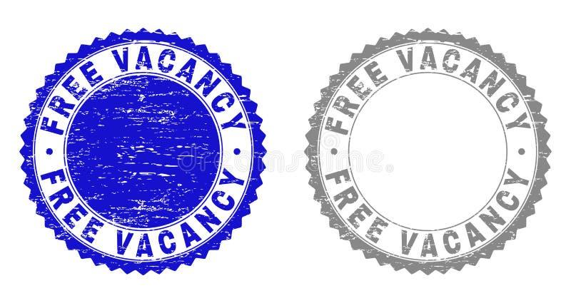 Grunge BEZPŁATNY wakat Drapający znaczki royalty ilustracja