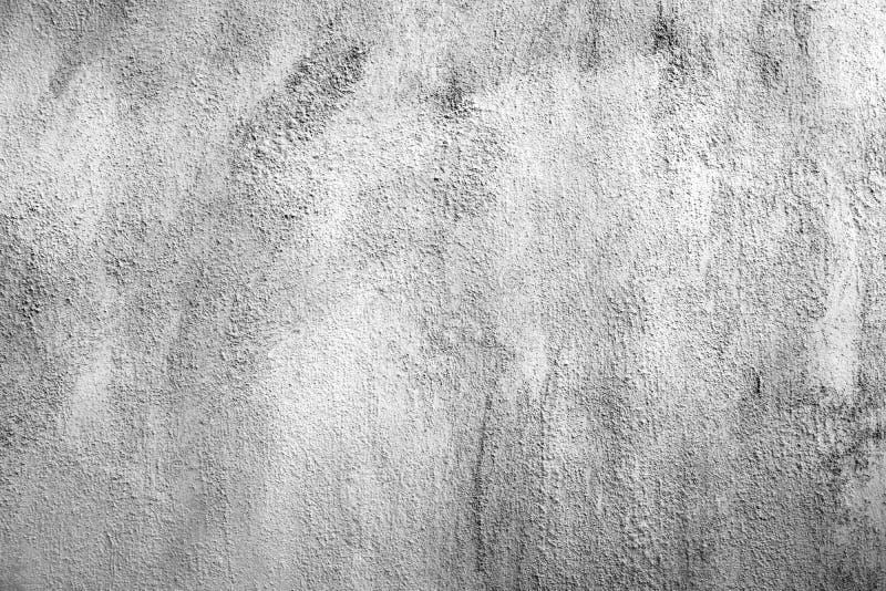 Grunge biały i popielaty cement ściany tekstury tło fotografia royalty free