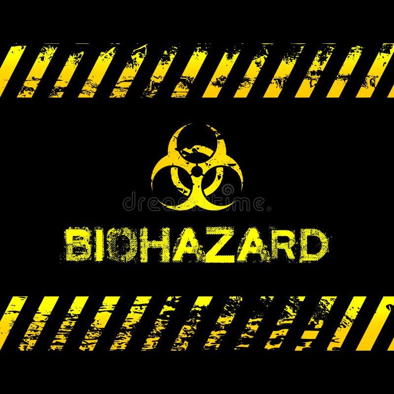 Download Grunge Biohazard Illustration Stock Vector - Image: 43106296