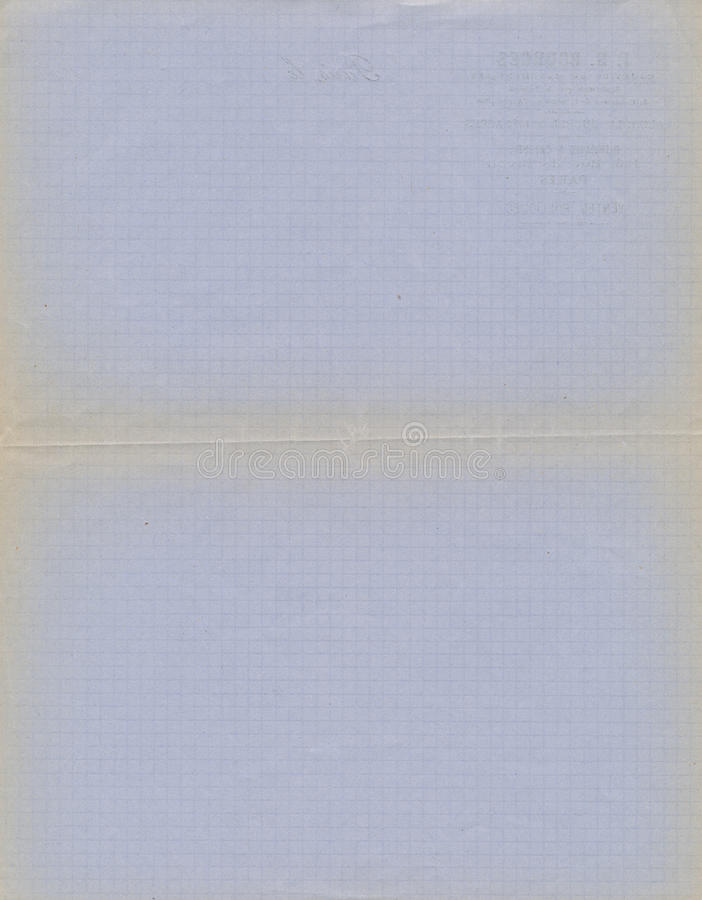 Grunge blått grafpapper royaltyfria foton