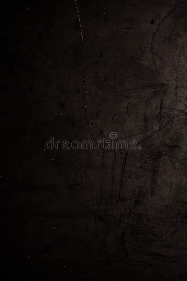 Grunge black background - textured wall with space. Dark Distress texture royalty free stock image