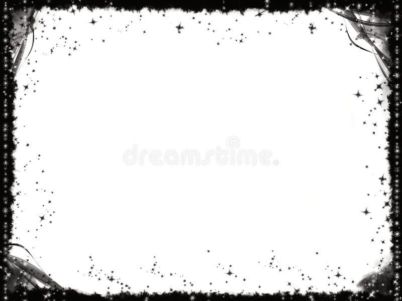 Grunge black frame. Abstract design royalty free stock images