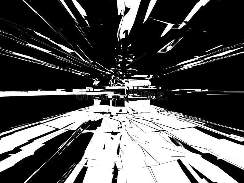 Grunge Black & White Background royalty free stock photography