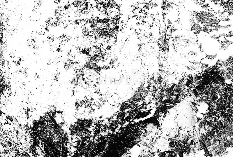 Grunge Black and White Distress Texture. Dirty Texture. Wall Background royalty free stock image