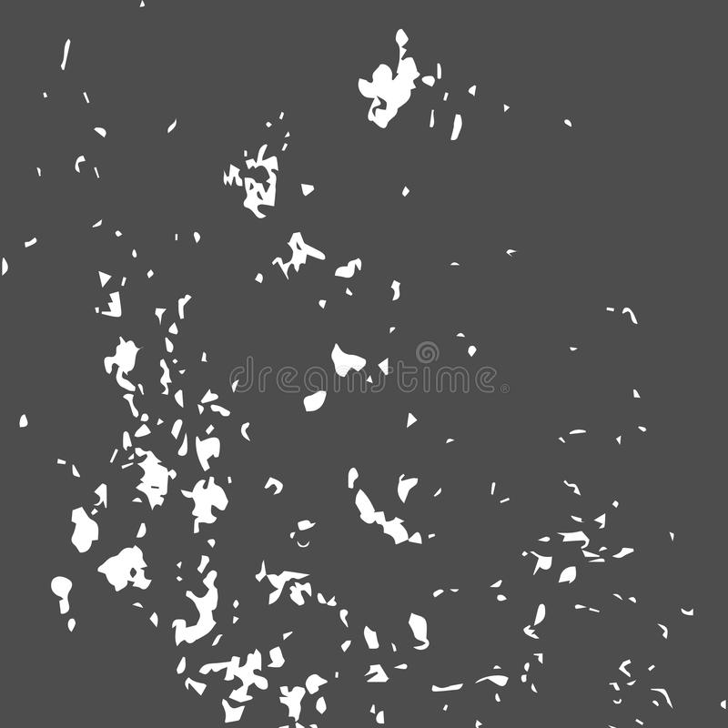 Grunge Black and White Distress Texture. Wall Background. Vector Illustration. rSimply Place illustration over any Object to Create grungy Effect abstract royalty free illustration
