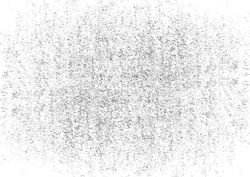 Grunge Black And White Urban Vector Texture Trasparent. Dark Messy Dust Background. Abstract Dotted, Vintage Grain stock photography