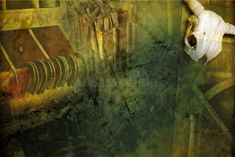 grunge blacksmith предпосылки стоковая фотография