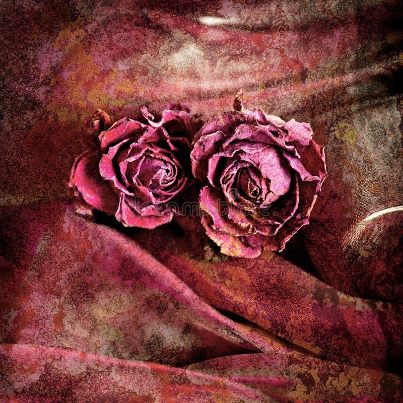 Download Grunge Bloemenachtergrond In Uitstekende Stijl Stock Foto - Afbeelding bestaande uit samenvatting, canvas: 39102448