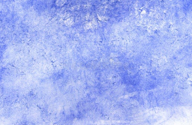Grunge Blue Painted Background stock illustration