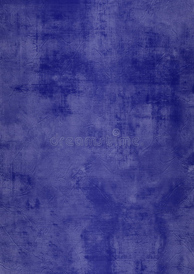 Grunge blue plaster wall with stains royalty free stock images