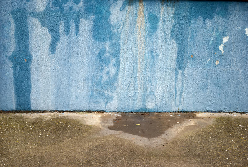 Download Grunge Blue Wall stock image. Image of wall, roughness - 24155989