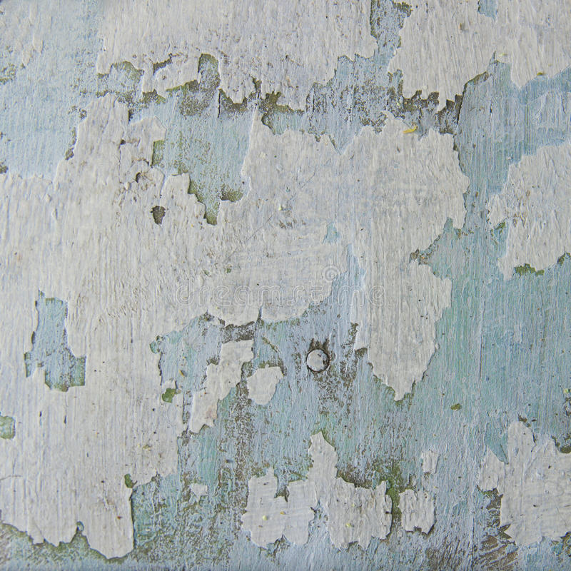 Grunge blue wooden abstract background stock photography