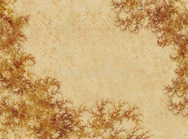 Grunge Blumentapete lizenzfreie abbildung