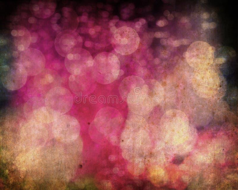 grunge bokeh предпосылки цветастое иллюстрация штока