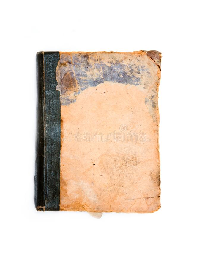 Grunge book cover stock photo