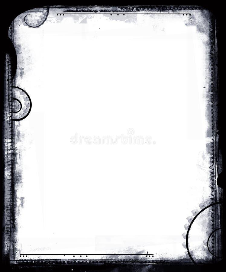 Download Grunge border stock illustration. Image of damaged, antique - 2309548