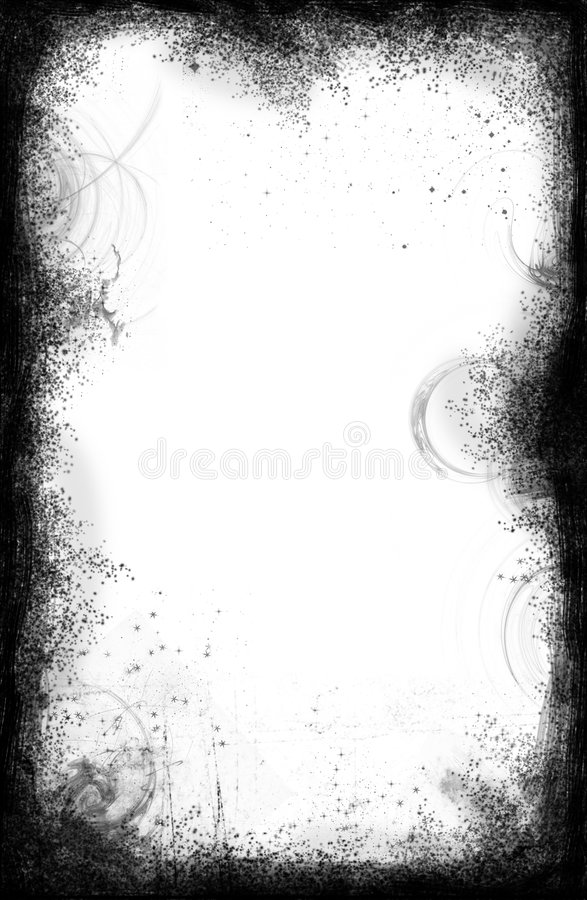 Grunge border vector illustration