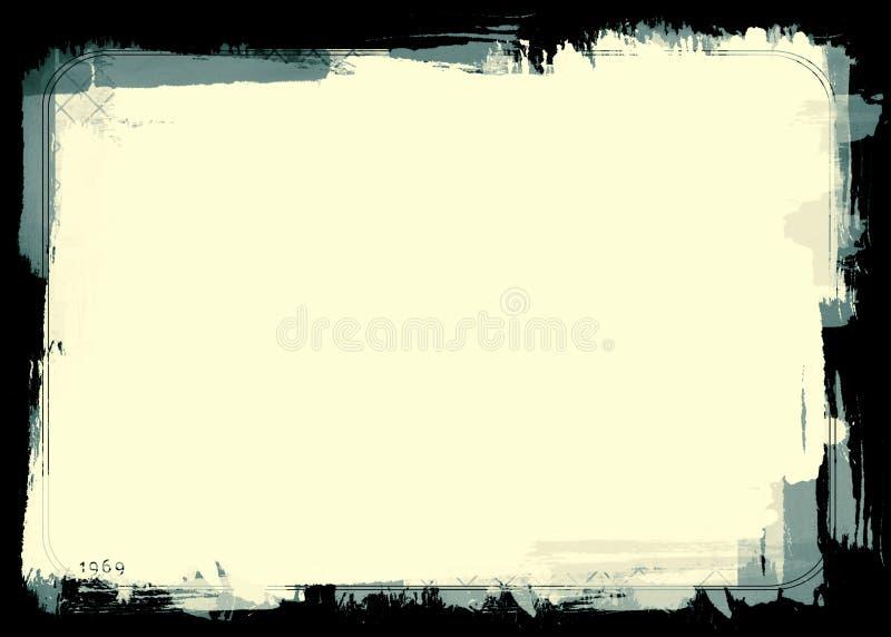 Download Grunge border stock illustration. Image of noise, edge - 6692451