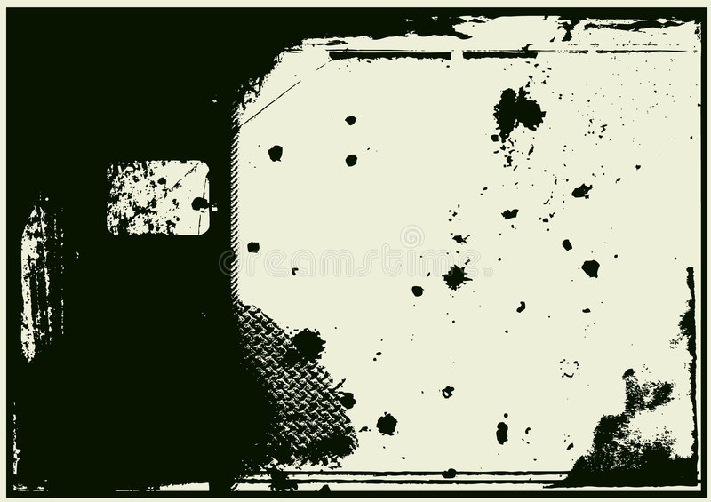Download Grunge border stock vector. Image of illustration, textured - 7463373
