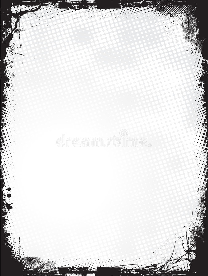 Download Grunge border - vector stock vector. Illustration of rusted - 4880523