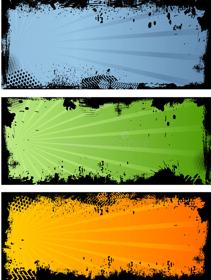 Download Grunge borders stock vector. Image of drip, splatter - 11491965