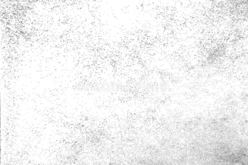 Grunge branco e claro - textura cinzenta, fundo, superfície ilustração stock