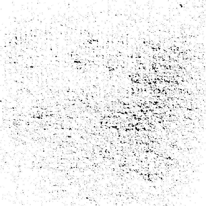 Grunge branco e preto da textura da poeira ilustração royalty free