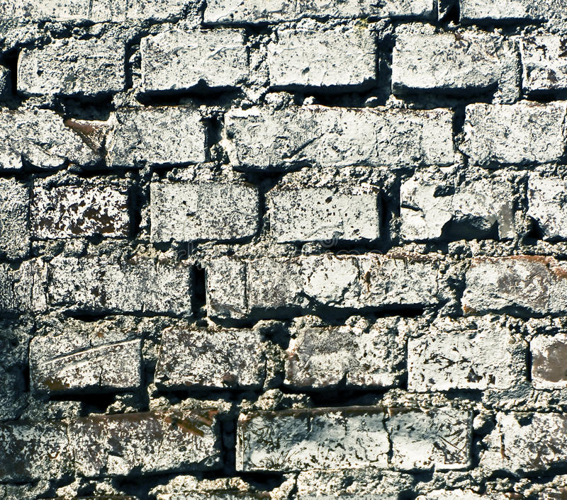 Grunge brick texture royalty free stock photo