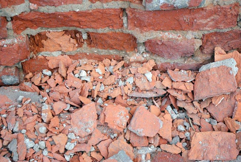 Grunge brick texture royalty free stock photography