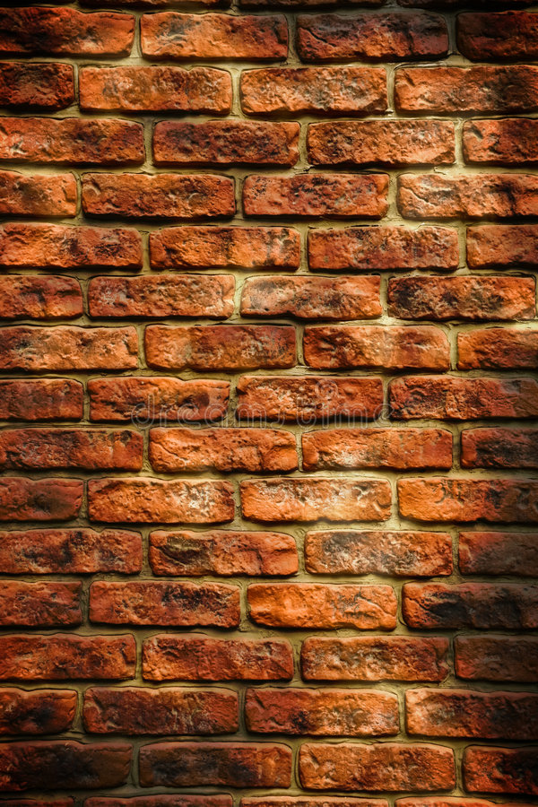 Grunge brick wall texture stock photography