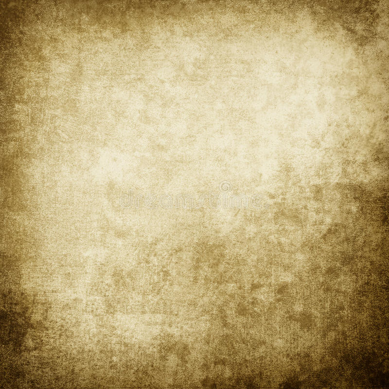 Grunge brown background with space for text. royalty free illustration