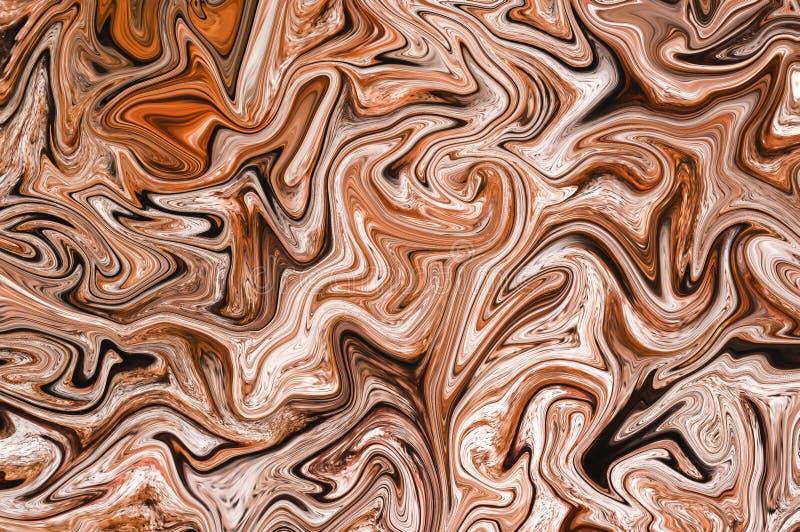 Grunge brown wood pattern illustration design background 皇族释放例证