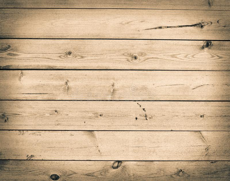 Grunge brown wooden background. Empty texture wall stock image