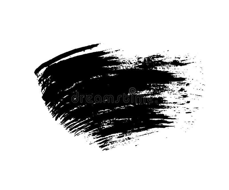 Grunge Brush Texture Smear Stock Illustration