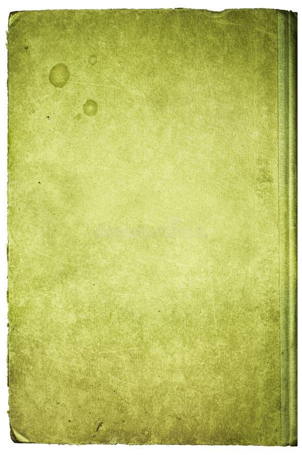 Grunge Bucheinband, getrennt stockbilder