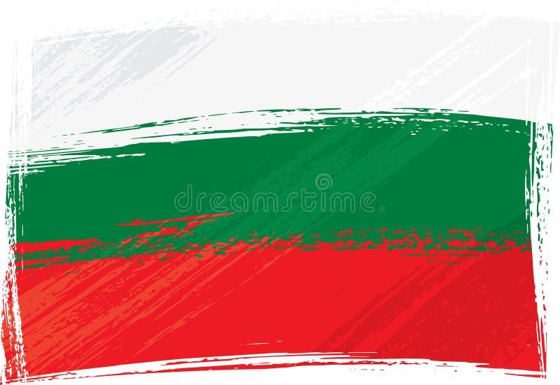 Grunge Bulgaria flag stock images