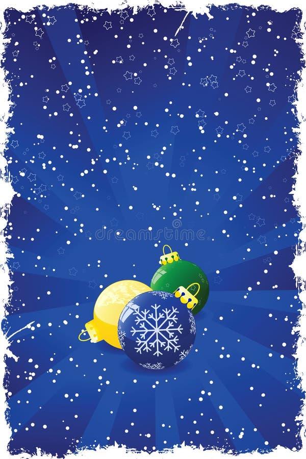 Download Grunge Christmas Background Stock Vector - Illustration: 3440095