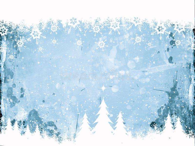 Grunge Christmas background royalty free illustration