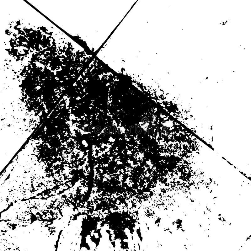Grunge cierpień skutek z czarnym koloru tła stylem obraz royalty free