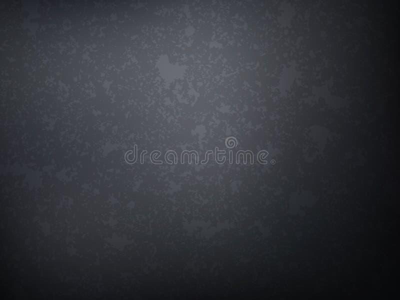 Grunge cinzento parede textured Fundo abstrato do vetor ilustração royalty free