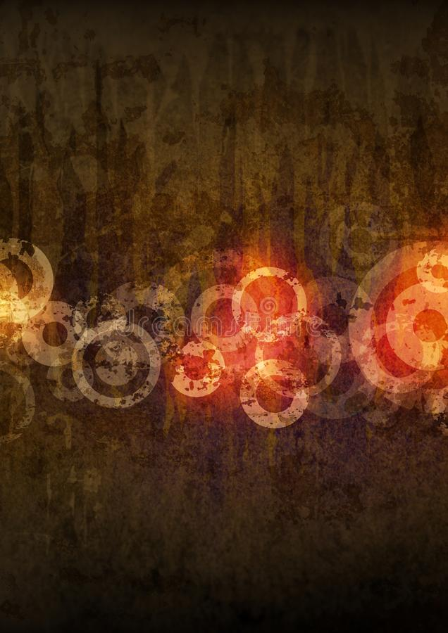 Download Grunge circles stock illustration. Image of abstract - 14461903