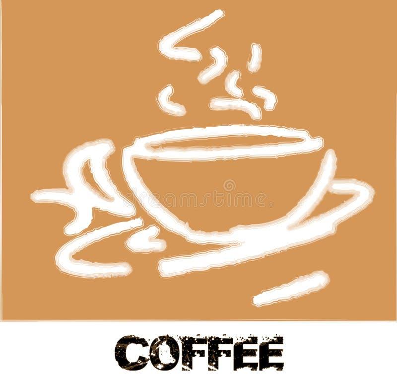 Grunge Coffee break royalty free stock images