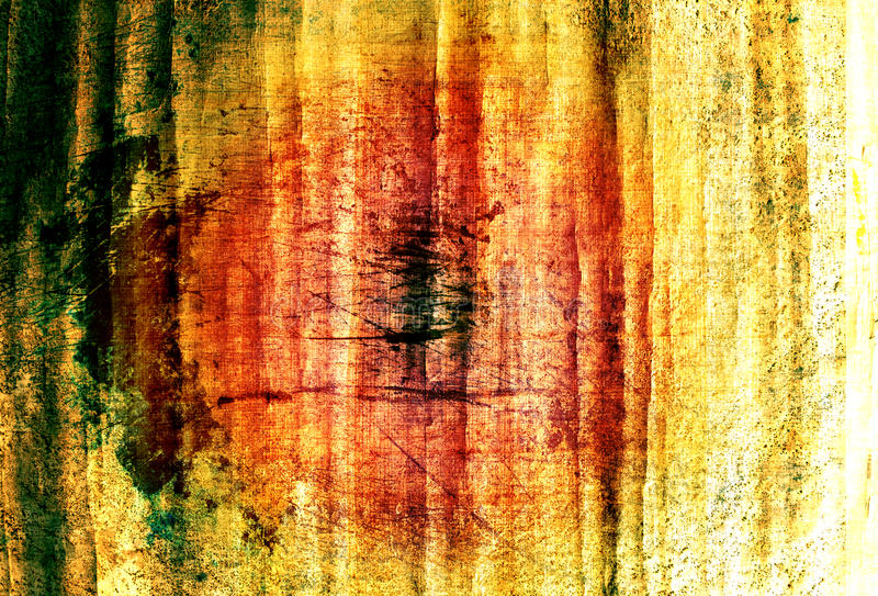 grunge coloful papirus ilustracja wektor